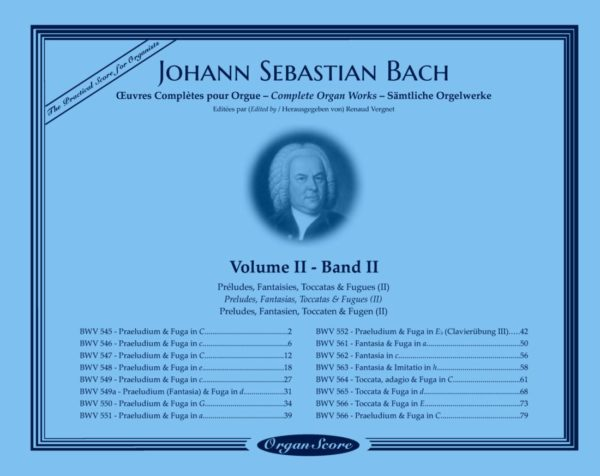 J.S. Bach complete organ works, volume II