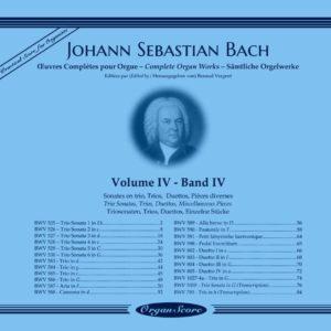 J.S. Bach complete organ works, volume IV