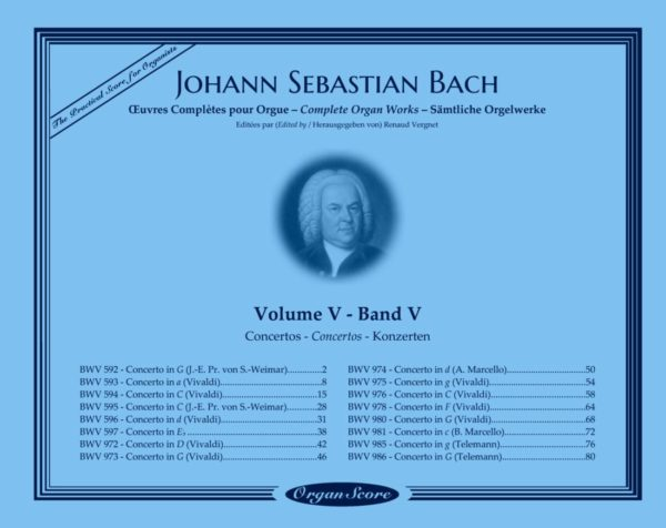 J.S. Bach complete organ works, volume V