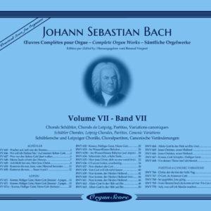 J.S. Bach œuvres complètes pour orgue, volume VII