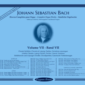 J.S. Bach complete organ works, volume VII