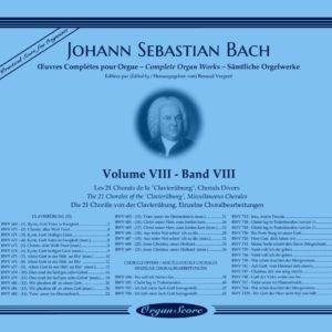 J.S. Bach œuvres complètes pour orgue, volume VIII