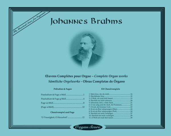 Brahms complete organ works