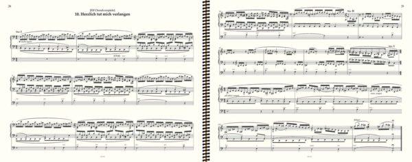 Herzlich tut mich verlangen (No Page Turn) - Brahms complete organ works