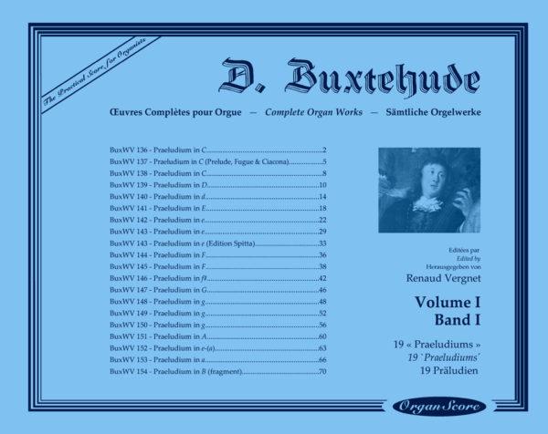 Buxtehude complete organ works, volume I