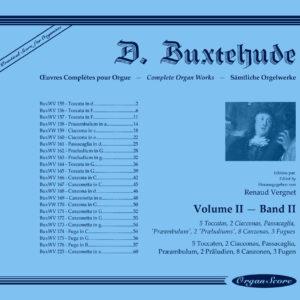 Buxtehude œuvres complètes pour orgue, volume II