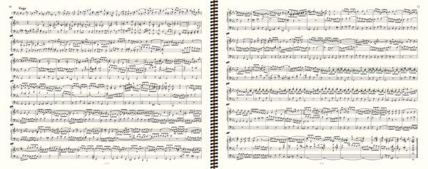 BWV 546 (fugue), J.S. Bach, œuvre d'orgue, volume II