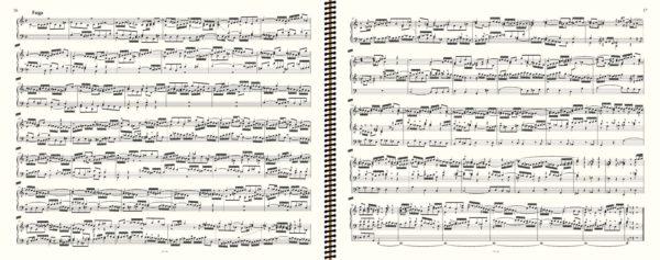 BWV 547 (fugue), J.S. Bach, œuvre d'orgue, volume II