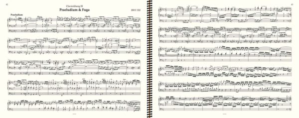 BWV 552 (prélude), J.S. Bach, œuvre d'orgue, volume II