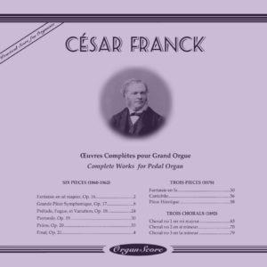 Franck complete organ works