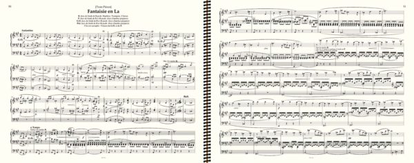 Franck 'Fantaisie en La' (2 Page Turns only) - Franck complete organ works