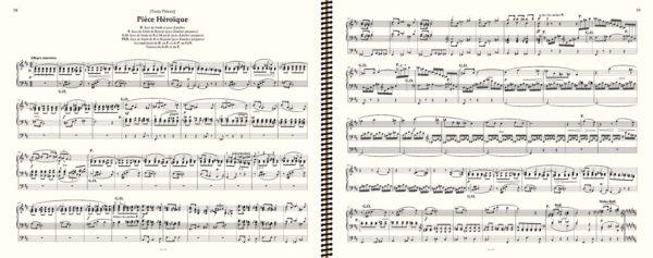 """Franck """"Pièce Héroïque"""" (2 Tournes de Page) - Franck Œuvre pour orgue"""