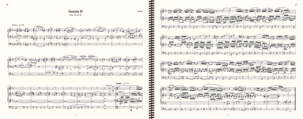 Mendelssohn Sonata Op 65 no 2 Grave no page turn