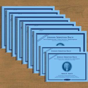 J.S. Bach, œuvre complète pour orgue en 9 volumes