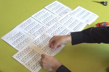 Le hobby favori des organistes : assembler des photocopies pour éviter les tournes