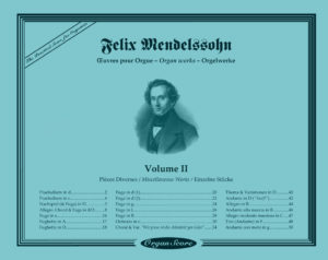 Mendelssohn organ works : Miscellaneous Pieces