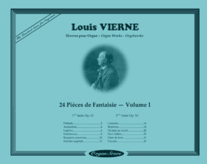 OrganScore Vierne Pieces de Fantaisie Volume I