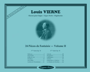 OrganScore Vierne Pieces de Fantaisie Volume II