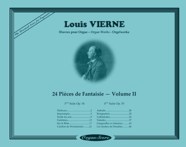 OrganScore Vierne Pieces de Fantaisie Volume II