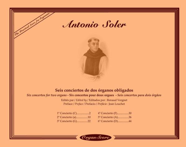 Soler Concertos Cover Image