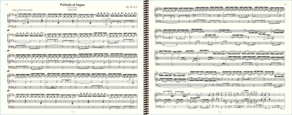 SaintSaens, Prelude Op 99 no 2 en Si majeur