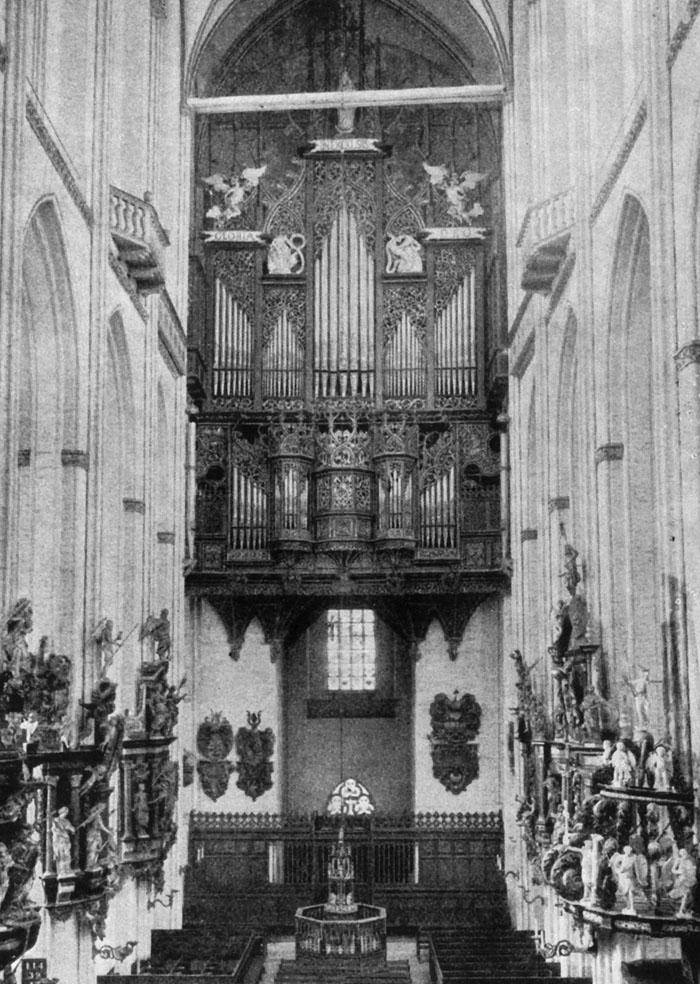 L'Orgue de Buxtehude, Eglise Sainte-Marie de Lübeck