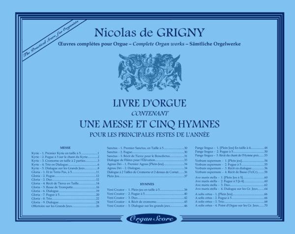 Grigny organ works